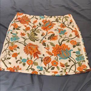 Tommy bahama linen skirt. Size 6
